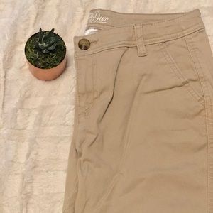Old Navy   diva chino khaki pants • 4